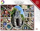 The Little Chapel, Guernsey - 500 Piece Montage Jigsaw Puzzle