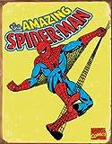 Tin Sign Spiderman - Retro.