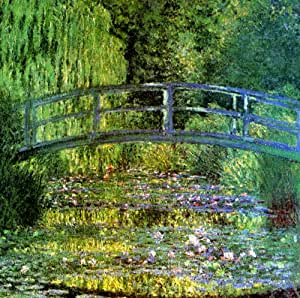 The water lily pond harmony in green 1899 for Garden pond amazon