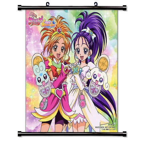 Pretty Cure Anime Fabric Wall Scroll Poster (16 x 17) Inches