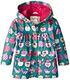 Hatley Little Girls  Girls Raincoat - Patterned Orchard Apples
