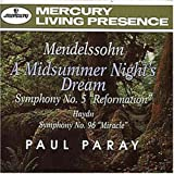 Mendelssohn: Symphony No. 5 / Midsummer Night¥'s Dream