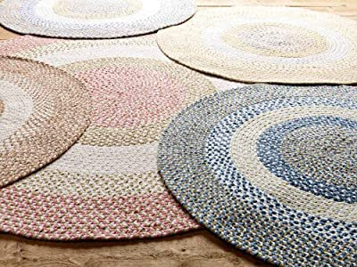 Soft Braided Rug Chenille Texture Carpet