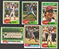 1981 TOPPS - CINCINNATI REDS Team Set
