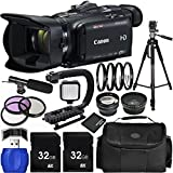 Canon VIXIA HF G40 Full HD Camcorder Bundle with Carrying Case and Accessory Kit (19 Items)