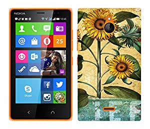 TrilMil Printed Designer Mobile Case Back Cover For Nokia X2