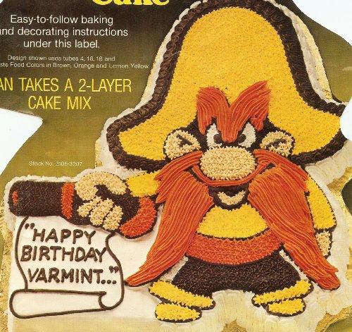 Wilton Yosemite Sam Cake Pan (502-2908, 1981) Warner Bros. (Tweety Cake Pan compare prices)