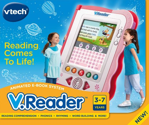 Imagen de VTech - V.Reader Animated E-Book System - Pink