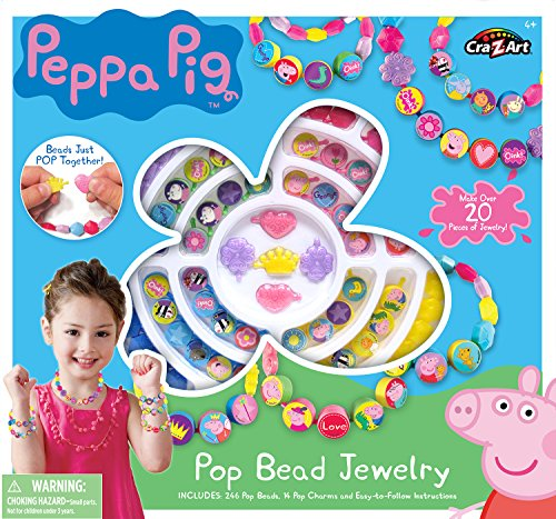 Cra-Z-Art-Peppa-Pig-Pop-Beads-Jewelry-Kit-Building-Kit