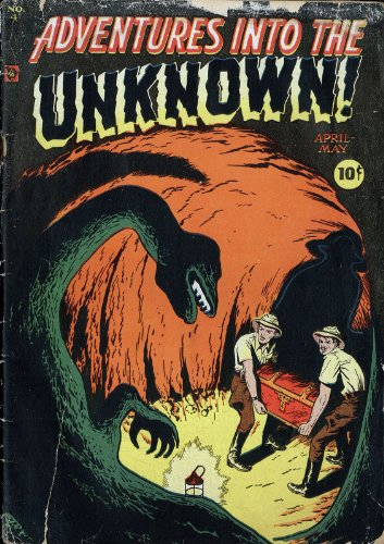 Adventures into the Unknown - 4 cover