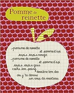 Amazon.com: Posters: Apples Poster Art Print - Pomme De Reinette
