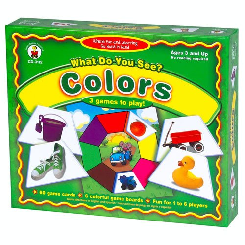 Carson-Dellosa Publishing What Do You See - Colors - 1