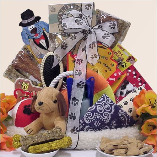 Pamper Your Pooch: Pet / Dog Gift Basket