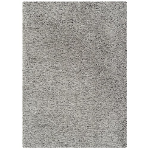 Safavieh Thom Filicia Collection TMF256S Hand-Knotted Silver Wool Area Rug, 2 feet by 3 feet (2' x 3')