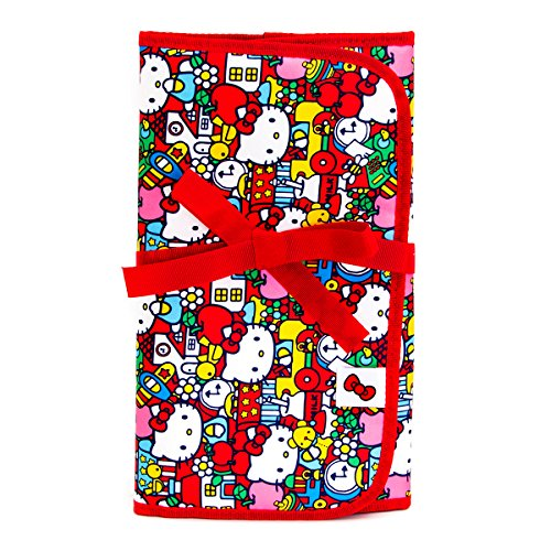 Ju-Ju-Be Hello Kitty Collection Memory Foam Changing Pad, Tick Tock