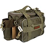 Goture Waterproof Outdoor Fishing Bag Portable Multi-function Canvas Carp Fishing Lure Storage Waist /Shoulder Package