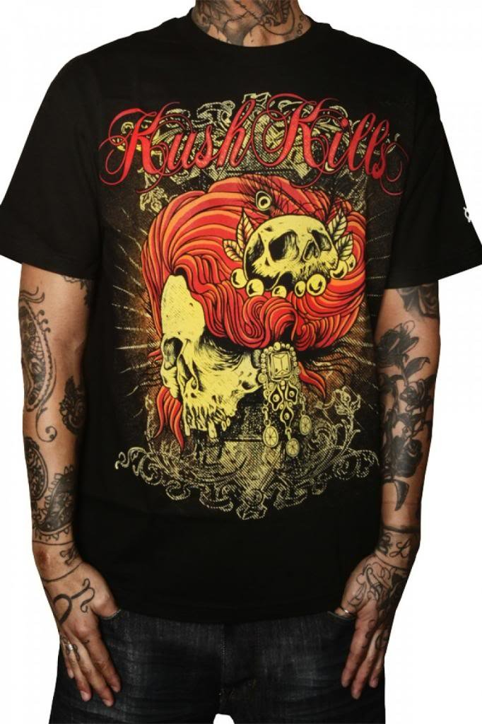 Men's Kush Kills Madame Death Tee