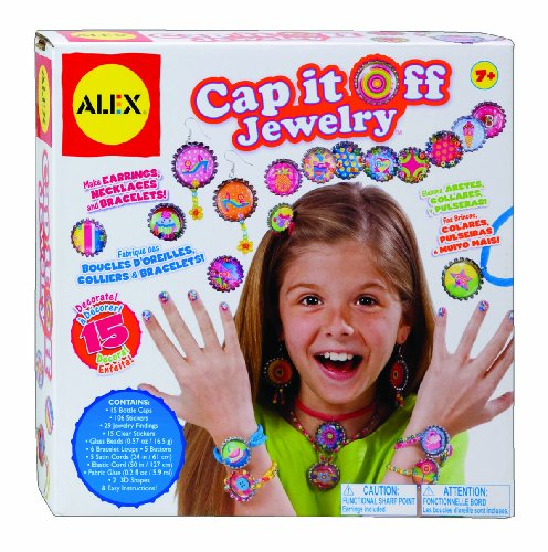 ALEX Toys Do-it-Yourself Wear Cap It Off Jewelry