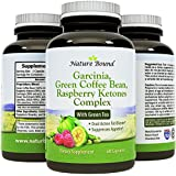 Tri-Blend - Pure Garcinia Cambogia HCA, Green Coffee Bean and Raspberry Ketones Complex- By Nature Bound