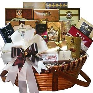 Chocolate Treasures Gourmet Food Gift Basket