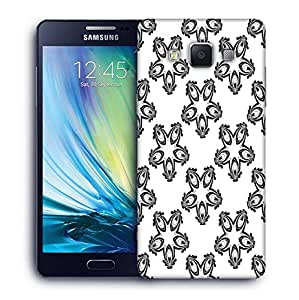 Snoogg Grey Designed Pattern Printed Protective Phone Back Case Cover For Samsung Galaxy A5