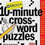 Mensa 10-Minute Crossword Puzzles Page-A-Day Calendar 2016