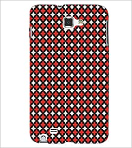 SAMSUNG GALAXY NOTE 1 N7000 PATTERN Designer Back Cover Case By PRINTSWAG