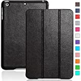 iPad mini case - INVELLOP Black Leatherette Case Cover for Apple iPad mini / iPad mini 2 / iPad mini 3