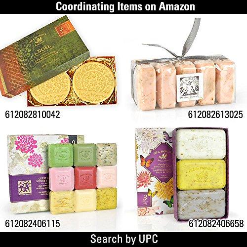 法国原产 普罗旺斯 Pre de Provence 礼盒装 草本香皂 25g*9块图片