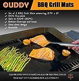 Ouddy BBQ Grill Mat (Set of 2)
