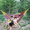 Collectibles Doppelhängematte Outdoor-Freizeit-Verbreiterung Doppelhängematte Schaukel dicke Leinwand für Erwachsene von Flying little witch Hammock auf Gartenmöbel von Du und Dein Garten