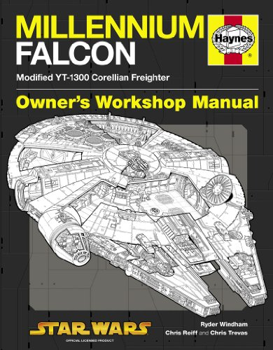 Millennium Falcon Manual: Modified YT-1300 Corellian Freighter (Owners Workshop Manual)