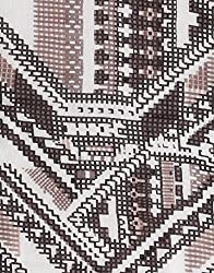 VB Woman's Scarf, fashionable - with aztec-pattern