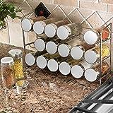 Polder 5429-05 18-Bottle Spice Rack