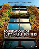 img - for Foundations of Sustainable Business: Theory, Function, and Strategy book / textbook / text book