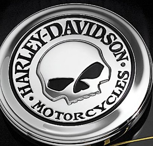 Harley Davidson Willie G Skull Fuel Cap Cover Medallion 99670-04