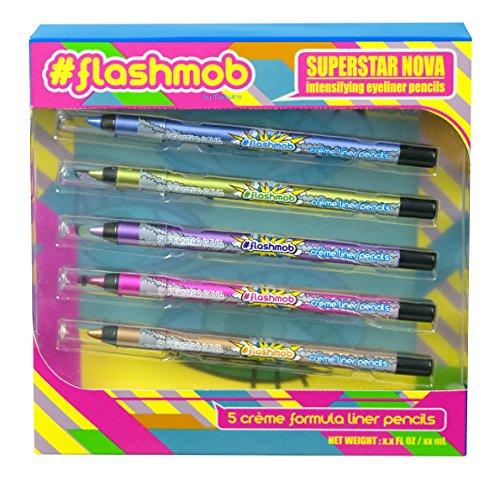 Markwins, Set di matite per occhi effetto intensificante, Flashmob Superstar, 5 pz.