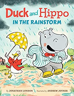 Book Cover: Duck and Hippo in the Rainstorm