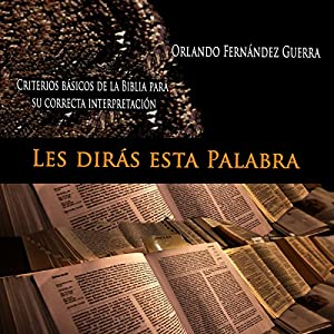 Les Dirás Esta Palabra [They Say This Word] Audiobook
