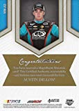 AUTOGRAPHED Austin Dillon 2013 Press Pass Fan Fare MAGNIFICENT MATERIALS (Dual Relic) Race-Used Cowboy Hat & Sheetmetal Memorabilia Insert Trading Card with COA (#07 of only 50 produced!)