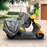 SUPERIOR 4 LAYER MATERIAL WEATHERPROOF SCOOTER MOPED MOTORCYCLE COVER COVERS : FITS UP TO LENGTH 80