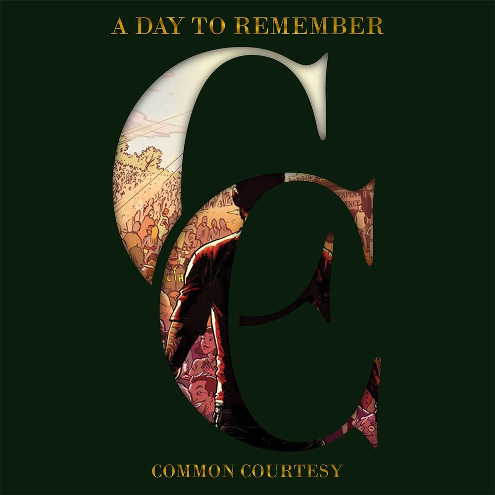 Common Courtesy  VINYL   A Day To Remember Common Courtesy Album Cover