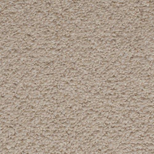 Cream / Ivory Carpet, Feltback Hardwearing Berber Looped Pile