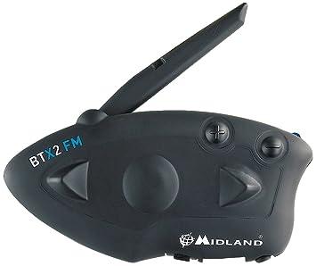 Midland BTX2 FM Kits Oreillette Bluetooth
