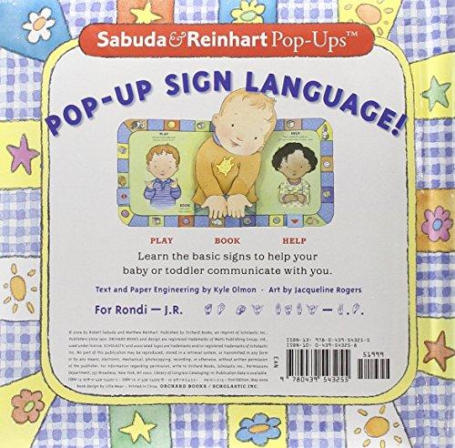 Sabuda & Reinhart Pop-Ups: Baby Signs