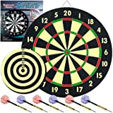 Trademark Global Game Room Dartboard Set with 6 Darts