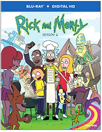 Rick and Morty: The Complete Second Season [Blu-ray]