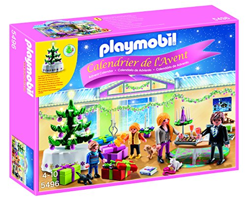 Playmobil Christmas Room with Illuminating Tree Advent Calen