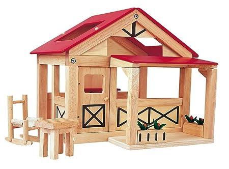 PlanToys - PT7158 - Jouet en bois - Le Ranch