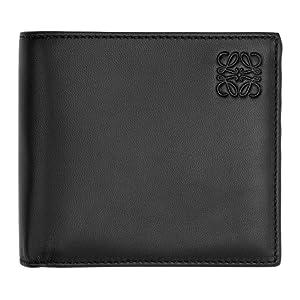 Loewe メンズ 財布 Black & Green Bifold Wallet [並行輸入品]